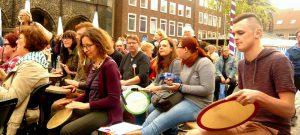 Drum Circle mit Helga Reihl