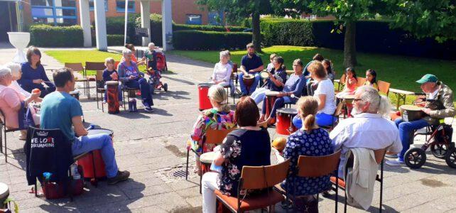 15. August 2021 | Drum Circle  Wichernkirche | Lübeck-Moisling | Kulturfunke