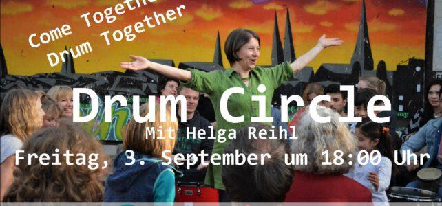 3. September 2021   Drum Circle  Brolingplatz   Lübeck