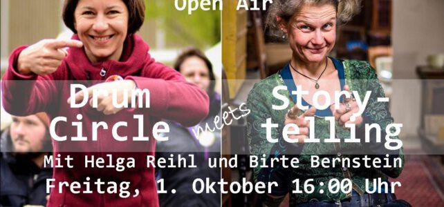 1. Oktober 2021 | Drum Circle  meets Storytelling | Haus der Kulturen Open Air | Lübeck