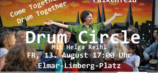 13. August 2021   Drum Circle  Elmar-Limberg-Platz   Lübeck