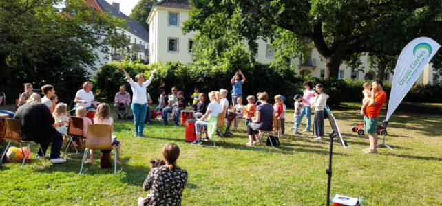 30. Juli 2021   Drum Circle im Luna-Park   Lübeck