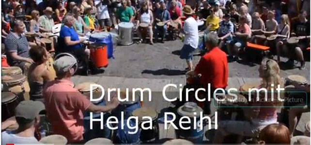 Drum Circles mit Helga Reihl