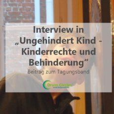 Interview über Musikalische Arbeit mit Kindern und Jugendlichen mit Behinderung