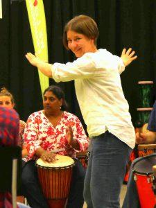 Kulturzentrum 9 Ingolstadt, Drum Circle mit Charly Böck und Helga Reihl